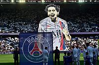 supporters du PSG - Ambiance<br /> MARQUINHOS (PSG) <br /> 14/09/2019<br /> Paris Saint Germain PSG - Strasbourg <br /> Calcio Ligue 1 2019/2020 <br /> Foto JB Autissier Panoramic/insidefoto <br /> ITALY ONLY