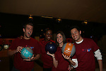 Scott Evans, Layla Williamson, Brittany Underwood, Jason Tam bowl at the 2009 Daytime Stars and Strikes to benefit the American Cancer Society to benefit the American Cancer Society on October 11, 2009 at the Port Authority Leisure Lanes, New York City, New York. (Photo by Sue Coflin/Max Photos)