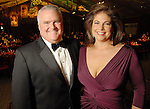 Jared Kearney and Ashley Wehrly at the Houston Grand Opera's Opening Night dinner Friday Oct. 23,2009. (Dave Rossman/For the Chronicle)
