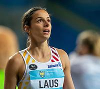 2nd May 2021; Silesian Stadium, Chorzow, Poland; World Athletics Relays 2021. Day 2; Camille Laus of Belgium close up