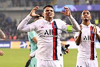 JOIE - FAIR PLAY - 02 THIAGO SILVA (PSG) celebrates <br /> Bruges 22-10-2019 <br /> Club Brugge - Paris Saint Germain PSG <br /> Champions League 2019/2020<br /> Foto Panoramic / Insidefoto <br /> Italy Only