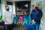 Eimear Moriarty and Derek Nagle of the Marine Hotel in Ballybunion on Friday