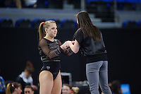 LOS ANGELES, CA - April 19, 2013:  Stanford's Nicole Dayton during the NCAA Championships at UCLA.