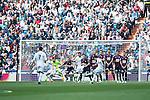 Real Madrid's James Rodriguez goal during La Liga match. April 09, 2016. (ALTERPHOTOS/Borja B.Hojas)