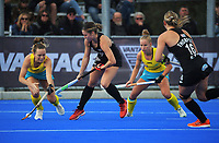 NZ's Rose Keddell in action during the Sentinel Homes Trans Tasman Series hockey match between the New Zealand Black Sticks Women and the Australian Hockeyroos at Massey University Hockey Turf in Palmerston North, New Zealand on Sunday, 30 May 2021. Photo: Dave Lintott / lintottphoto.co.nz