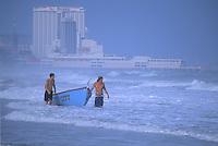 Lifeguards on duty, Atlantic City, New Jersey