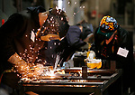 Skills USA welding competition