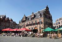 Nederland  Nijmegen  - September 2020 .  De Boterwaag op de Grote Markt.    Foto : ANP/ Hollandse Hoogte / Berlinda van Dam