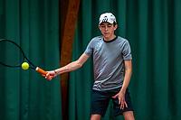 Wateringen, The Netherlands, December 4,  2019, De Rhijenhof , NOJK 14 and18 years, Thijs Roper (NED)<br /> Photo: www.tennisimages.com/Henk Koster