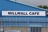The Millwall cafe closed due to the pandemic during Millwall vs Middlesbrough, Sky Bet EFL Championship Football at The Den on 8th July 2020