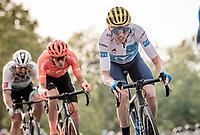 Enric Mas (ESP/Movistar)<br /> finish laps around the Champs-Élysées<br /> <br /> Stage 21 from Mantes-la-Jolie to Paris (122km)<br /> <br /> 107th Tour de France 2020 (2.UWT)<br /> (the 'postponed edition' held in september)<br /> <br /> ©kramon
