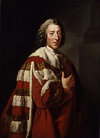 FILE IMAGE - William Pitt, Prime Minister of Great Britain 1766–1768; often known as William Pitt the Elder.<br /> <br /> Painting by Richard Brompton 31 December 1771
