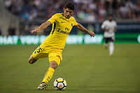 Orlando, FL - Saturday July 22, 2017: Goncalo Guedes during the International Champions Cup (ICC) match between the Tottenham Hotspurs and Paris Saint-Germain F.C. (PSG) at Camping World Stadium.