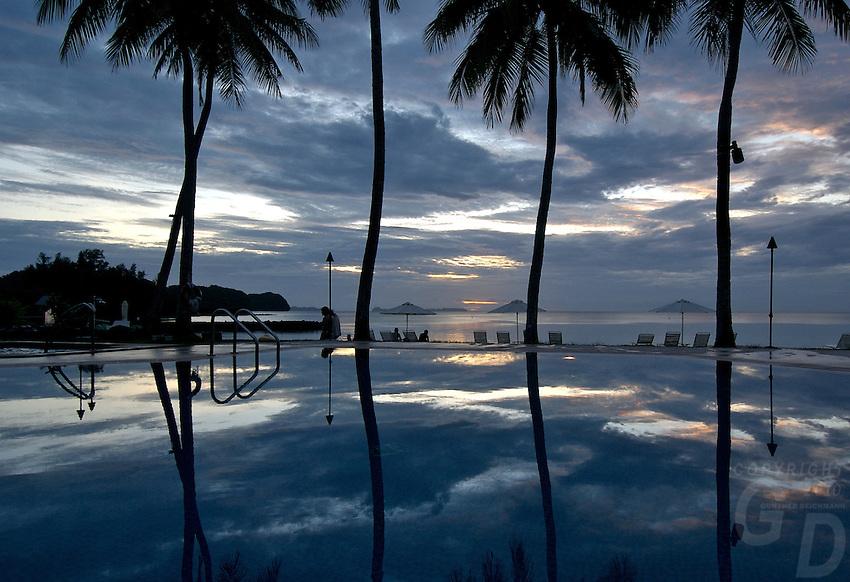 THE SUREAL POOL,RESORT, PALAU, MICRONESIA