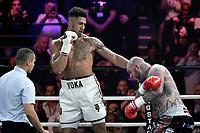 TONY YOKA, TRAVIS CLARK - premier combat de boxe professionnel de Tony Yoka - 02/6/2017 - Paris - France