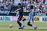 CD Leganes's Kenneth Josiah Omeruo and Valencia CF' Daniel Parejo during La Liga match, Round 25 between CD Leganes and Valencia CF at Butarque Stadium in Leganes, Spain. February 24, 2019. (ALTERPHOTOS/A. Perez Meca)