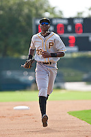 Gregory Polanco of the Gulf Coast League Pirates at the ESPN Wide World of Sports Complex in Orlando, Florida July 31, 2010. Photo By Scott Jontes/Four Seam Images