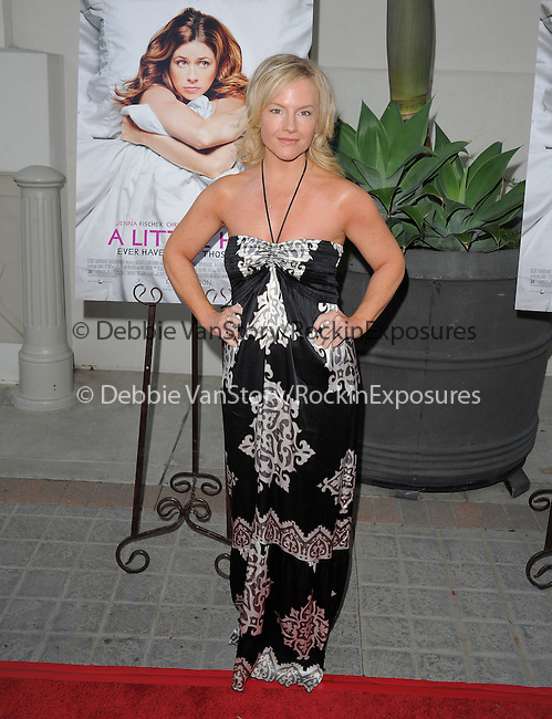 """Rachael Harris attends the L.A. Premiere of """"A Little Help"""" held at Sony Pictures Studios in Culver City ,California on July 14,2011                                                                               © 2011 DVS / Hollywood Press Agency"""