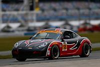 5-8 January, 2017, Daytona Beach, Florida USA<br /> 18, Porsche, Porsche Cayman, ST, <br /> ©2017, Jake Galstad<br /> LAT Photo USA