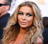 LOS ANGELES, CA, USA - APRIL 23: Carmen Electra at the 2014 Revolver Golden Gods Award Show held at Club Nokia on April 23, 2014 in Los Angeles, California, United States. (Photo by Xavier Collin/Celebrity Monitor)