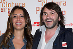12.04.2012. Photocall invited to the premiere of  'From the waist down' at the Teatro Bellas Artes in Madrid. This funny and surprising comedy written and directed by Felix Sabroso and Dunia Ayaso, and starring Antonia San Juan, Luis Miguel Segui and Jorge  Monje. In the image Hiba Abouk and Fernando Tejero .(Alterphotos/Marta Gonzalez)