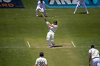 NZ's Neil Wagner bats during day two of the second International Test Cricket match between the New Zealand Black Caps and West Indies at the Basin Reserve in Wellington, New Zealand on Friday, 11 December 2020. Photo: Dave Lintott / lintottphoto.co.nz