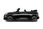 Car Driver side profile view of a 2019 MINI Cooper John-Cooper-Works-Convertible Door Convertible Side View