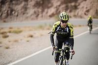 Esteban Chaves (COL/Mitchelton-Scott) during the Mitchelton-Scott training camp in Almeria, Spain<br /> <br /> february 2019<br /> <br /> ©kramon