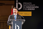 King Felipe VI of Spain during National Awards of Innovation and Design 2016 at Regional Archeological Museum in Madrid. February 06, 2017. (ALTERPHOTOS/Borja B.Hojas)