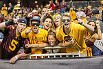 Minnesota Golden Gophers and Texas Red Raider fans watch the action during the Meineke Car Care Bowl game of Texas between the Texas Tech Red Raiders and the Minnesota Golden Gophers at the Reliant Stadium in Houston, Texas. Texas defeats Minnesota 34 to 31.