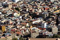 Blick vom Burghügel auf Lorca,  Provinz Murcia, Spanien, Europa