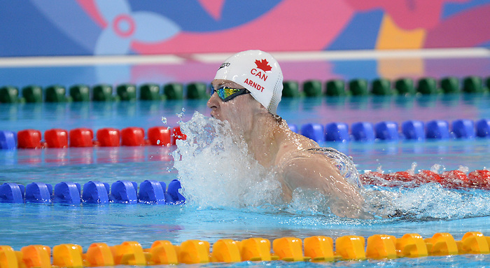 Caleb Arndt in Para Swimming at the 2019 ParaPan American Games in Lima, Peru-26aug2019-Photo Scott Grant