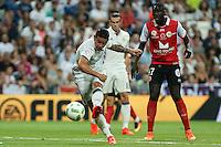 Real Madrid's James Rodriguez during the XXXVII Bernabeu trophy between Real Madrid and Stade de Reims at the Santiago Bernabeu Stadium. August 15, 2016. (ALTERPHOTOS/Rodrigo Jimenez) /NORTEPHOTO