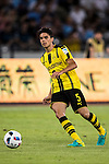 Borussia Dortmund defender Marc Bartra plays Manchester City FC during their 2016 International Champions Cup China match at the Shenzhen Stadium on 28 July 2016 in Shenzhen, China. Photo by Victor Fraile / Power Sport Images