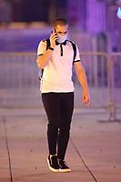 WASHINGTON, D.C. - SEPTEMBER 12: Nick Markakis of Major League Baseball's Atlanta Braves, seen leaving Nationals Park after their win against the Washington Nationals during the Covid-19 pandemic-shortened season in Washington, D.C. on September 12, 2020. Credit: mpi34/MediaPunch