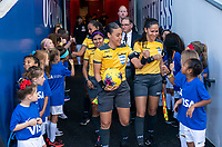 FRISCO, TX - MARCH 11: Melissa Borjas walks out during a game between Japan and USWNT at Toyota Stadium on March 11, 2020 in Frisco, Texas.