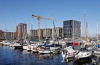 Nederland  Amsterdam-  2020.  Haven IJburg.   Foto : ANP/ HH / Berlinda van Dam
