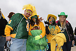 North Dakota State Bison and Sam Houston State Bearkats enjoy the game atmosphere before, during and after the FCS Championship game between the North Dakota State Bison and the Sam Houston State Bearkats at the FC Dallas Stadium in Frisco, Texas. North Dakota defeats Sam Houston 39 to 13..