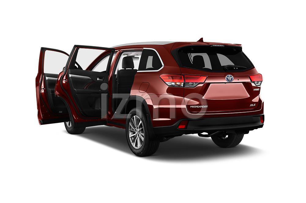 Car images of 2019 Toyota Highlander XLE 5 Door SUV Doors
