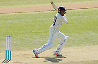 Daniel Bell-Drummond of Kent hits four runs during Essex CCC vs Kent CCC, Friendly Match Cricket at The Cloudfm County Ground on 29th March 2021