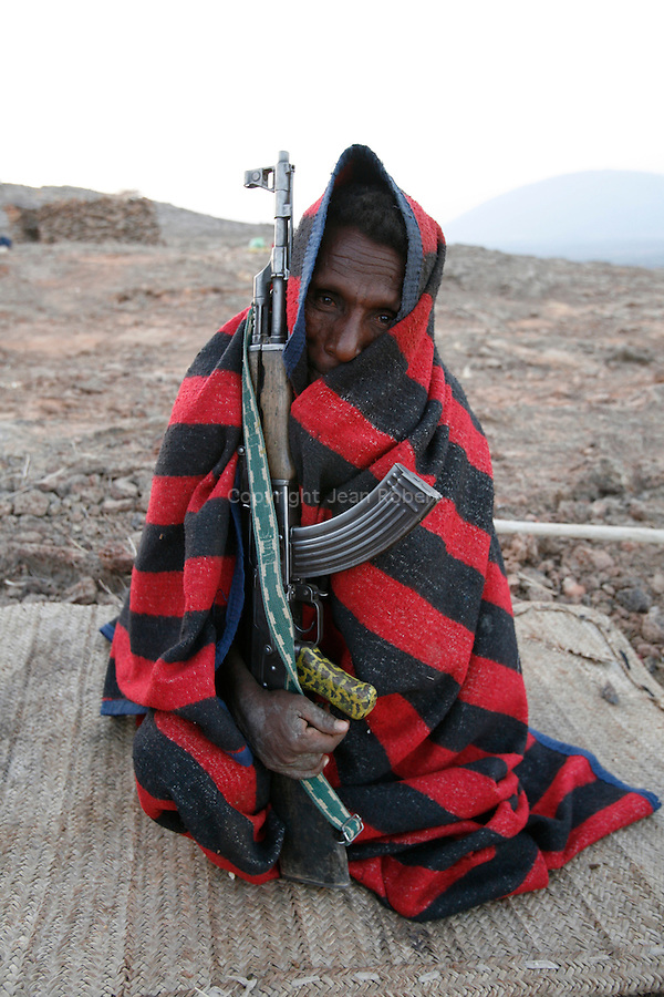 Since the Afar, who are also called the Danakil, compete and sometimes clash with other tribes over territory and water, they are heavily armed; even boys in their early teens can be seen carrying Kalashnikov rifles..