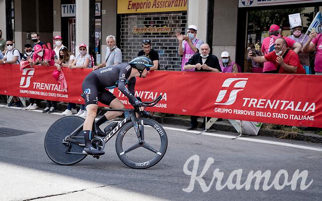 Nico Denz (DEU/DSM)<br /> <br /> 104th Giro d'Italia 2021 (2.UWT)<br /> Stage 21 (final ITT) from Senago to Milan (30.3km)<br /> <br /> ©kramon