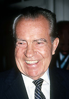 Richard Nixon 1984<br /> Photo By Adam Scull/PHOTOlink.net