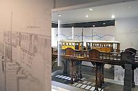 - Milano, Museo nazionale della Scienza e della Tecnica; sezione ferroviaria, modelli di trasporti tranviari<br /> <br /> - Milan, National Museum of Science and Technology; railway section, tramway transports models