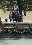 Graham Winn and Zorba of the Republic of South Africa compete in the cross country phase of the FEI  World Eventing Championship at the Alltech World Equestrian Games in Lexington, Kentucky.