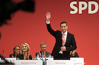 SPD Bundesparteitag im Congress Center Leipzig (CCL) an der Neuen Messe in Leipzig vom 14.11.-16.11.2013 - im Bild: Sachsen SPD-Chef Martin Dulig. Foto: Norman Rembarz