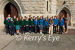 Pupils and past Pupils of Aghatubrid NS who were confirmed at the Daniel O'Connell Memorial Church in Cahersiveen on Wednesday 22nd September.