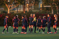 Carson, CA. - Thursday, January 22, 2015: USWNT Training at StubHub Center.