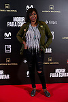 Francine Galvez attends to 'Morir para contar' film premiere during the Madrid Premiere Week at Callao City Lights cinema in Madrid, Spain. November 13, 2018. (ALTERPHOTOS/A. Perez Meca)