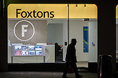 Foxtons estate agent office, Camden, London